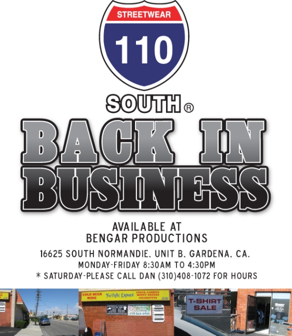 110 South @ Bengar, Gardena, CA