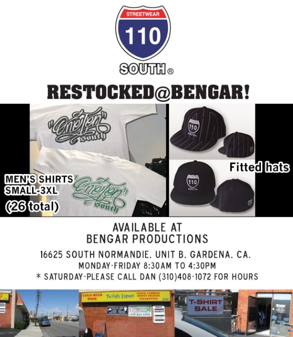 Bengar_110south_AD_restock